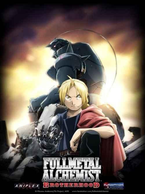 Fullmetal Alchemist Brotherhood [SERIE COMPLETA] [Latino/Japones] [1080HD | 720P] [Mega & Utorrent]
