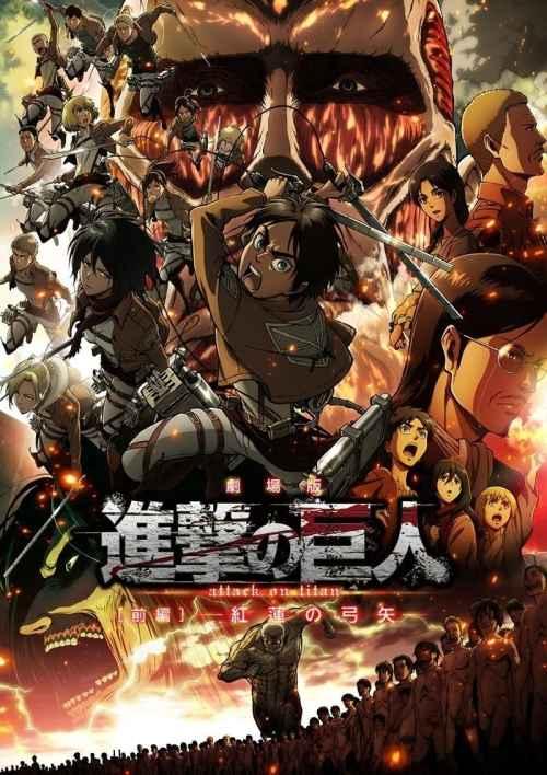 Shingeki no Kyojin Películas Recopilatorias [03/03] [Blu-Ray HD] [720HD] [Sub Español | Latino | Castellano] [Mega | Mediafire]