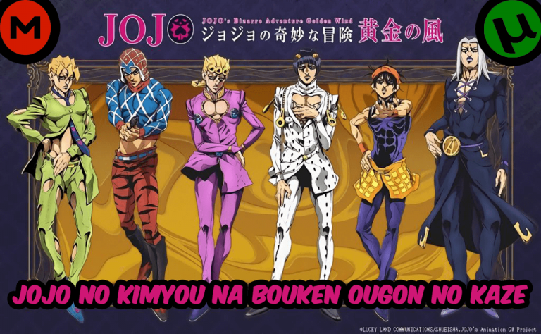 JoJo no Kimyou na Bouken Ougon no Kaze [39/39] [1080HD | 720P] [Sub Español] [MEGA-TORRENT]