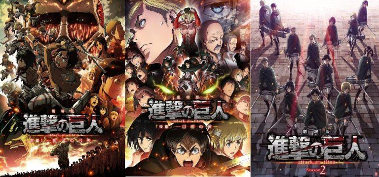 Shingeki no Kyojin Películas Recopilatorias [3/3] [Blu-Ray] [HD] [720HD] [Sub Español] [Mega | Mediafire]