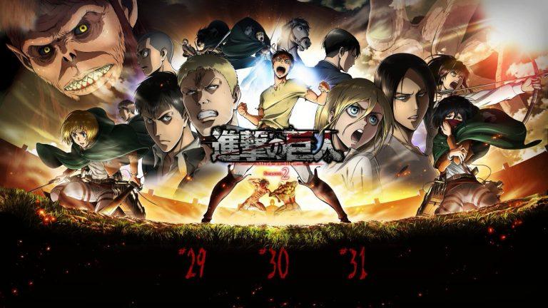 Shingeki no Kyojin Segunda Temporada [12/12] [Blu-Ray] [HD] [1080HD | 720P] [Sub Español] [Mega | Google Drive | Utorrent]